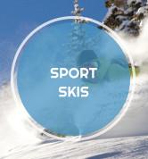 Sport Skis Icon