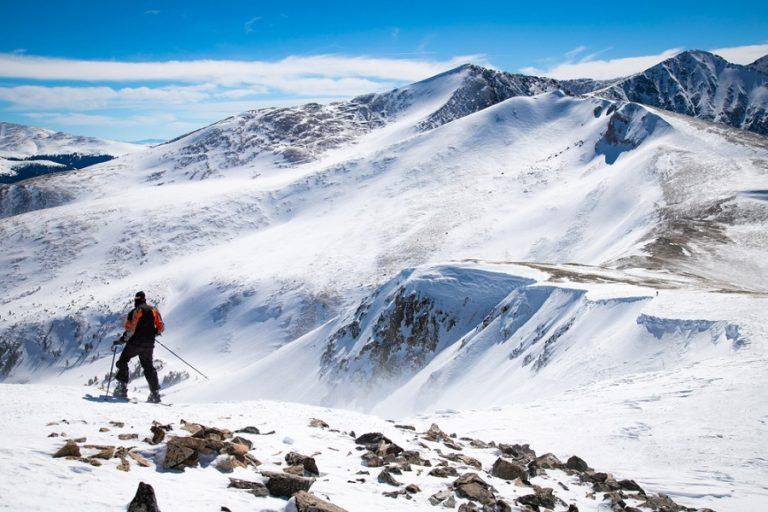 snowboarding peak 6 breck